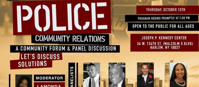 The State of Police Forum and Panel Discussion